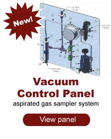 Vacuum Control Panel